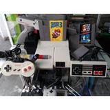 Nes Top Loader Con Mario Bros 3 ( Envio Gratis )