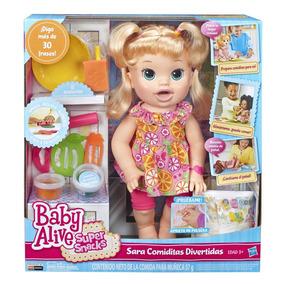 Baby Alive Sara Comiditas Divertidas Rubia