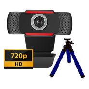 Camara Web Webcam Pc Notebook Hd Micrófono + Tripode