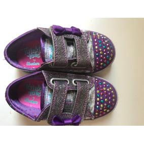 Zapatillas Con Luces Marca Skechers