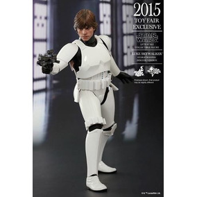 No Brasil Luke Skywalker Stormtrooper Star Wars - Hot Toys