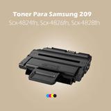 Toner Para Samsung 209 Scx-4824fn, Scx-4826fn, Scx-4828fn