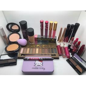 Lote De Cosmeticos Maquillaje 30 Piezas Mac, Kylie, Premium