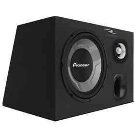 Caixa Trio Subwoofer Pioneer 12 350w Rms + Corneta E Tweeter
