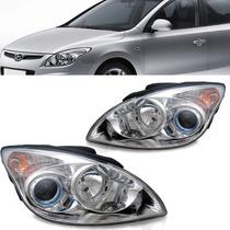 Par Farol Hyundai I30 2008 2009 2010 2011 Cromado