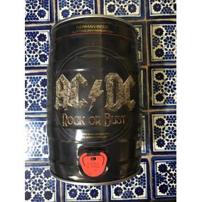 Barril De Cerveza De Coleccion Acdc Rock Or Bust