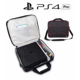 Morral Bolso Maletin Consola Ps4 Pro Maleta Playstation 4