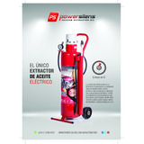 Extractor De Aceite Eléctrico Power Silens 30 Lts.