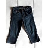 Hym Pantalon 3/4 Jeans Mujer Talla 36. Envío Gratis