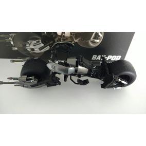 Batman Dark Knight Bat Pod Moto 1/18 Hotwheels Elite
