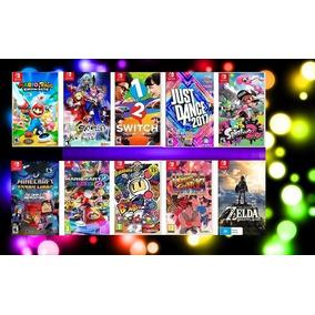 Jogos T260 Nintendo Switch Midia Fisica - Escolha O Seu !