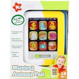 Tablet Infantil Musical Bebe Pad Animais First Steps Oferta