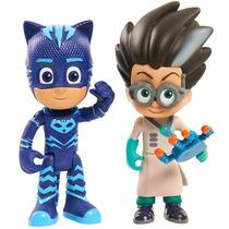 Pj Masks - Catboy + Romeo - Heroes En Pijamas Originales