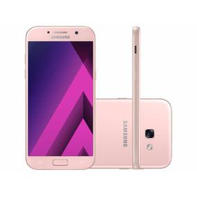 Samsung A5 2017 32gb Rosa 2chip 4g Câm16m-promoção