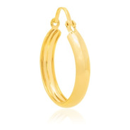 Brinco Argola Rommanel Folheado Ouro 520284 2cm