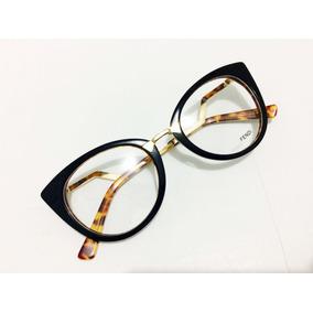 Oculos Armação De Grau Fendi Feminino Em Acetato -fe100 · 7 cores. R  135 85d4168fec