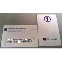 Microsoft Windows 10 Professional 32/64 Bit Fpp Fqc-08789
