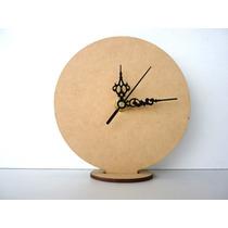 Base Para Souvenirs Reloj Cd 13 Cm Mas Maquina De Reloj