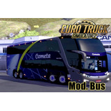 Euro Truck Simulator 2 Mod Onibus Mapa Brasil