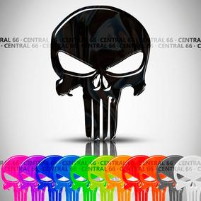 Adesivo The Punisher Shineray Xy 150-5 Speed Resinado Caveir