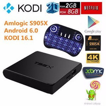 Android Tv Box T95x, 2gb Android 6.0+control Bluetooth Mxq