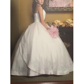 Hermoso Vestido De Xv Qinces Quinceañera Excelente Calidad