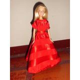 Barbie Muñeca Fashionista Ropa Vestidos+accesorios