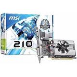 Tarjeta De Video Msi Geforce 210 1gb Ddr3 Pci-e / Dataglobal
