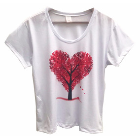 5439197f761c7 Arvore Coracao - Camisetas Manga Curta para Masculino no Mercado ...