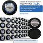 Coletor De Impressão Digital De 6 Cm Diametro 500 Coletas