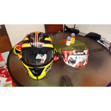 Casco De Moto Scooter Ls2 Arrow Large Niños Yamaha Honda