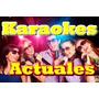 Karaokes Actuales En Video Hd Envio Inmediato