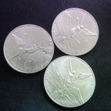 3 Onzas Troy Plata Pura .999 Moneda Centenario Goldmex Oro
