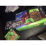 Xbox One S Edicion Minecraft 1tb 2controles Nuevas Garantia