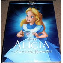 Alicia En El Pais De Las Maravillas Clasicos Disney En Dvd