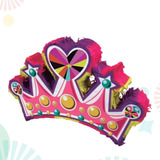 Piñata De Papel Corona Princesa Cotillon Eventos Salones