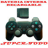 Joystick Inalambrico Batería Recargable Playstation2 Ps2 Env