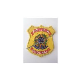 Distintivo Bordado Policia Federal