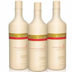 Ghair Inoar 1 Kit Escova Alemã Inteligente 3x1 Litro +brinde