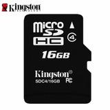 Kit Com 20 Cartões De Memória Micro Sd Kingston 16gb