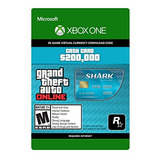 Grand Theft Auto V - Tarjeta De Dinero Shark Tiger - Xbox O