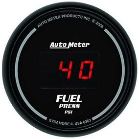 Auto Metro 6363 Deporte Comp Digital 2-1 / 16 -inch0-100 Psi