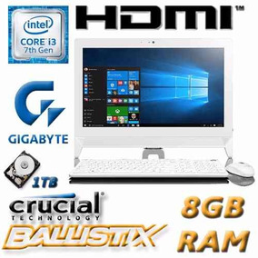All In One I3 7100 7tageneracion 1tb 8gb Hdmi Garantia Lo...