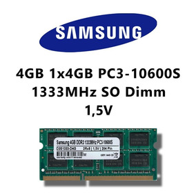 Memoria Ram Laptop 4gb 2rx8 Pc3