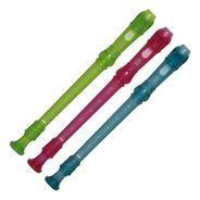 Flauta Dulce Soprano Yamaha Yrs20 - En Tres Colores