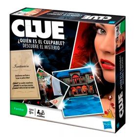 Clue Quien Es El Culpable Hasbro Juego De Mesa Educando