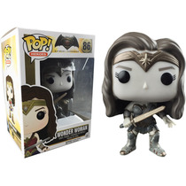 Funko Pop Wonder Woman Versión Sepia Batman Vs Superman