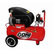 Compresor Goni 2.5hp. Tanque 28 Lt Herramienta Goni