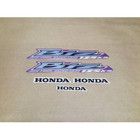 Kit Adesivos Honda Biz 125 Ks 2012 Rosa