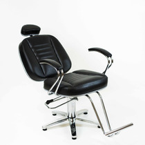 Poltrona Cadeira Turquesa Reclinavel Para Salao Cabeleireiro